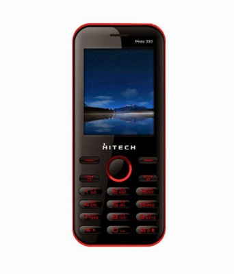 Hitech Pride 330 (Black & Red)
