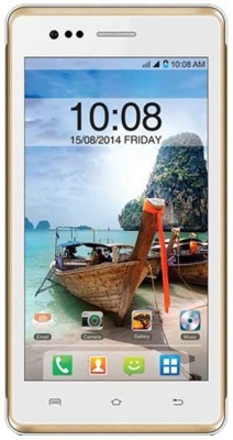 Intex Aqua 4.5e (White and Champange, 1 GB)