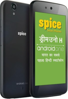 Spice Dream UNO Mi-498H(Android One) (Black, 4 GB)