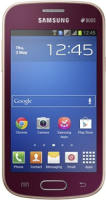 Samsung Galaxy Trend S7392 Wine Red available at Flipkart for Rs.7990