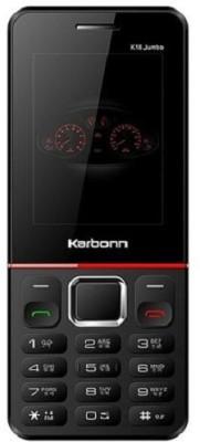 Karbonn K18 Jumbo (Black/Red)