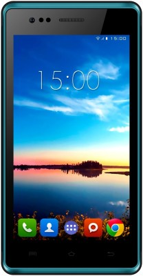 Intex Aqua 4.5e Kitkat (Black & Blue, 1 GB)