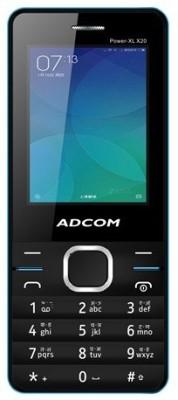 Adcom X20 (POWER XL) Dual Sim Mobile- Black & Blue (Black, Blue)