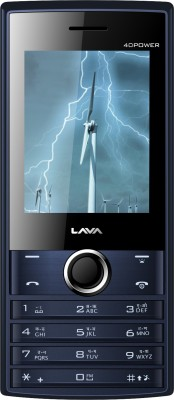 Lava KKT 40 Power (Black+Blue)