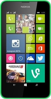 Nokia Lumia 630 (Bright Green, 8 GB)