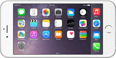 Apple iPhone 6 Plus (Silver, 64 GB)
