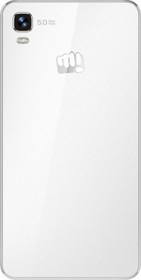 Micromax Canvas Fire A093 (White and Gold, 2.25 GB)