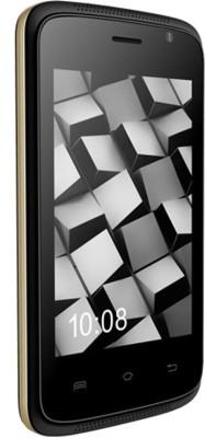Karbonn ALFA A110 (Black, Champagne, 512 MB)