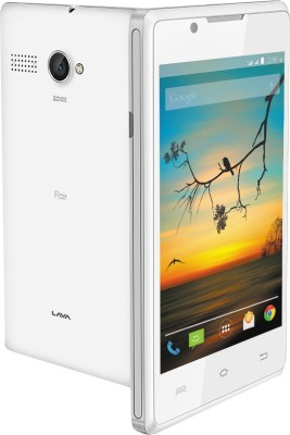 Lava Flair P1i (White, 512 MB)