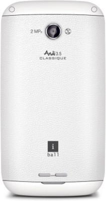 iBall Andi 3.5 Classique (White, 512 MB)