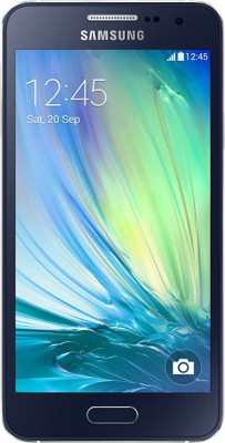 Samsung Galaxy A3 (Midnight Black, 16 GB)