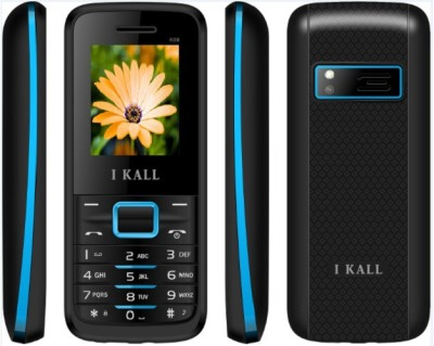 I KALL 1.8 INCH DUAL SIM MULTIMEDIA MOBILE WITH FM & BLUETOOTH, BLUE
