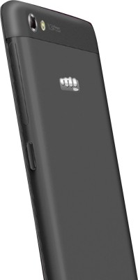 Micromax Canvas Hue 2 A316 Dual Sim - Black (Black, 16 GB)
