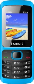 I-smart IS 111x (2000mAh Battery And Auto Call Recording) (Blue)