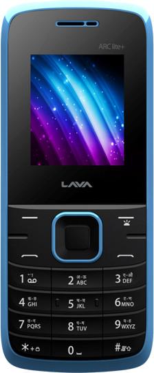 Lava Arc Lite Plus Black & Blue