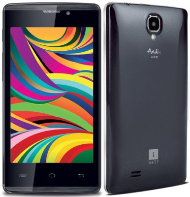 iBall ARC 3+ (Black, 8 GB)