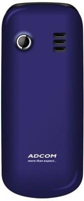 Adcom X5 Dual Sim Mobile-Black & Blue (Black, Blue)