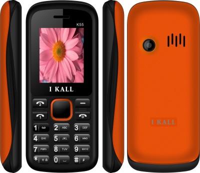 I KALL 1.8 INCH DUAL SIM MOBILE (K55) WITH FM & BLUETOOTH-ORANGE (Orange)