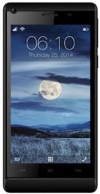 Celkon Millennia Q455 Blk (Black, 16 GB)
