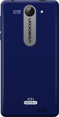 Videocon Z51 Nova+ (Blue, 8 GB)