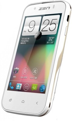 Zen 303 Quad (White & Gold, 512 MB)