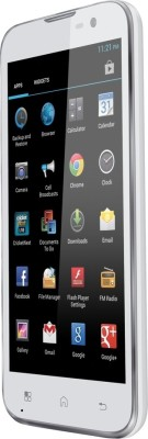 iBall Quadro Andi 5h Milky White available at Flipkart for Rs.10199