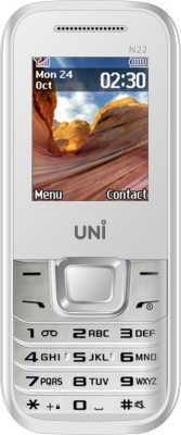 UNI UNI 1.8 inch Three Sim Multimedia Mobile N3300 (White)