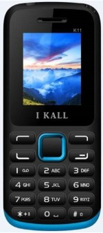i KALL Dual Sim 1.8 Inch Feature phone with bluetooth blue&black