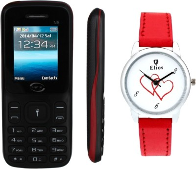 Infix N5 EWW-0035 (Black & Red)