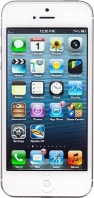 Apple iPhone 5 White, with 16 GB available at Flipkart for Rs.44000