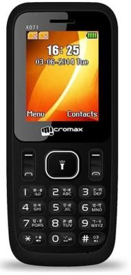 Micromax X071 (Black)