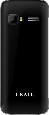 I KALL K35 dual sim mobile with torch light-Black (2.4 inch) (Black)