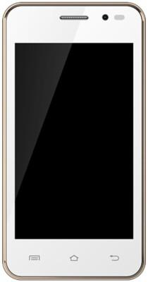 Karbonn A5 Star Dual Sim - White & Gold (White, 512 MB)