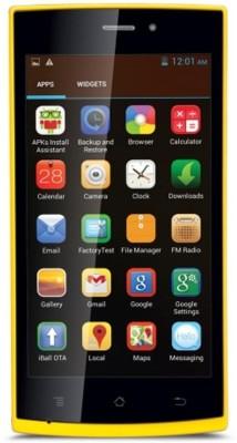 iBall Andi 4.5P Glitter (Yellow, 4 GB)