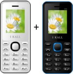 I KALL 1.8 inch Dual Sim Multimedia set of two Mobile with bluetoot