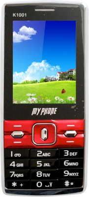 My Phone K 1001 (Black, Red)