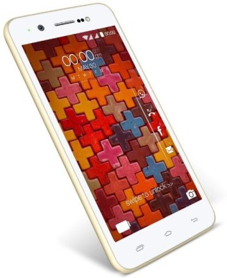 Karbonn Titanium Machone Plus (White/Golden, 16 GB)