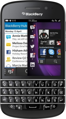View BlackBerry Q10 Mobile Price Online(BlackBerry)