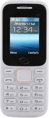 Infix N-3 Dual Sim Multimedia with Facebook (WhiteOrange)