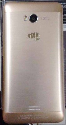 Micromax Bolt Q336 (Gold, 4 GB)