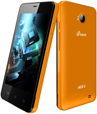 Mtech ACE 2 (Orange, 4 GB)