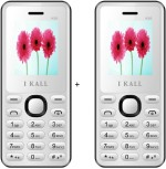 i KALL 1.8 inch Dual Sim Multimedia set of two Mobile with bluetooth white