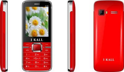 I KALL (K34BLACK+K34RED) Dual Sim Mobile Combo (Black, Red)