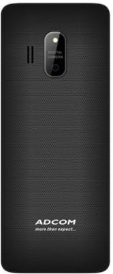 Adcom X17 (TRENDY) Dual Sim Mobile (Black)