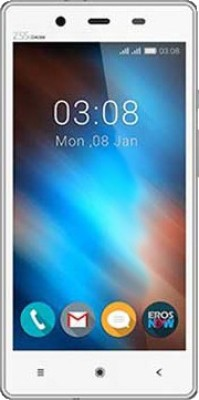 Videocon VIDEOCON INFINIUM Z55 DELITE with 16GB Memory Card (White/Silver, 8 GB)