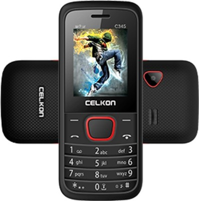 CELKON CELKON C345 (BLACK+RED)
