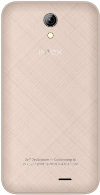 Intex Aqua Y4 (Champagne, 4 GB)