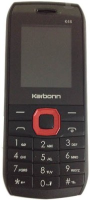 Karbonn K48 Dual Sim Black Red GSM