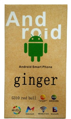 Ginger Monix Android G310 Red Bull By Camerii (Blue, 512 MB)
