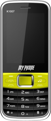My Phone 1007 BG (Black, Green)